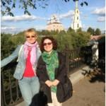 Косметолог Ольга Волошенко (слева) и ген.директор Ольга Геннадьевна (справа)